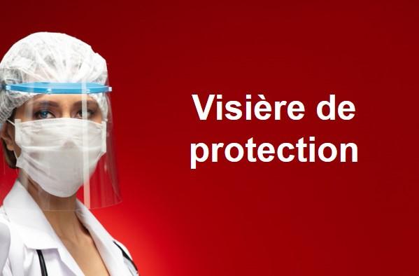 Plastiques de Visières de Protection anti COVID